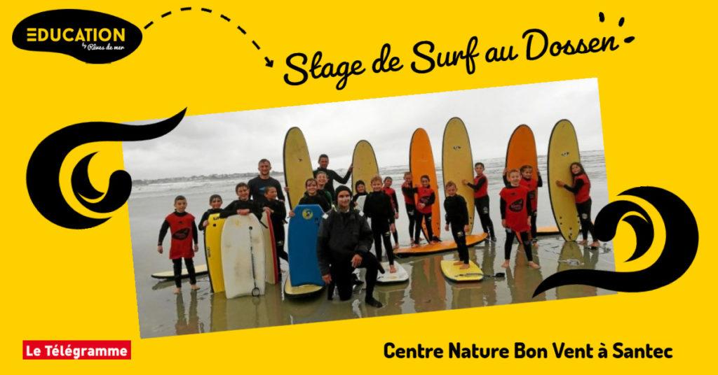 Stage de Surf à Santec - Rêves de Mer