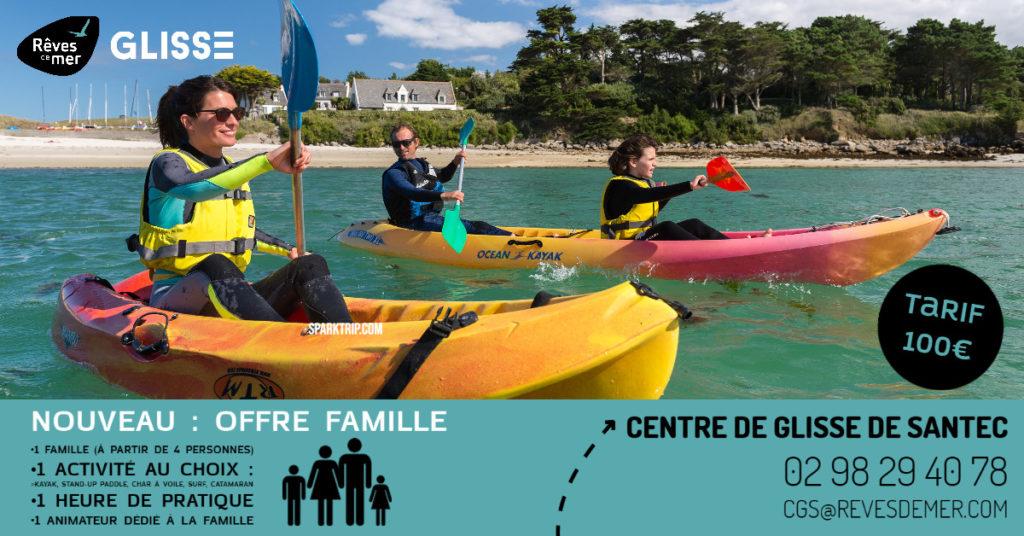 Offre Famille Santec - Rêves de Mer